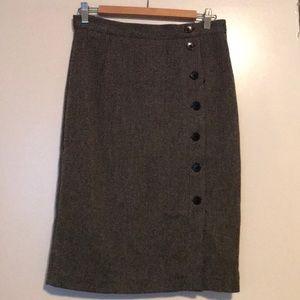 H&M Tweed Pencil Skirt